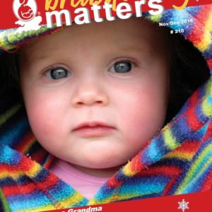 cover of breastfeeding matters