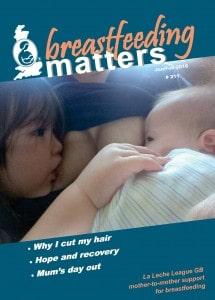 Breastfeeding matters magazine