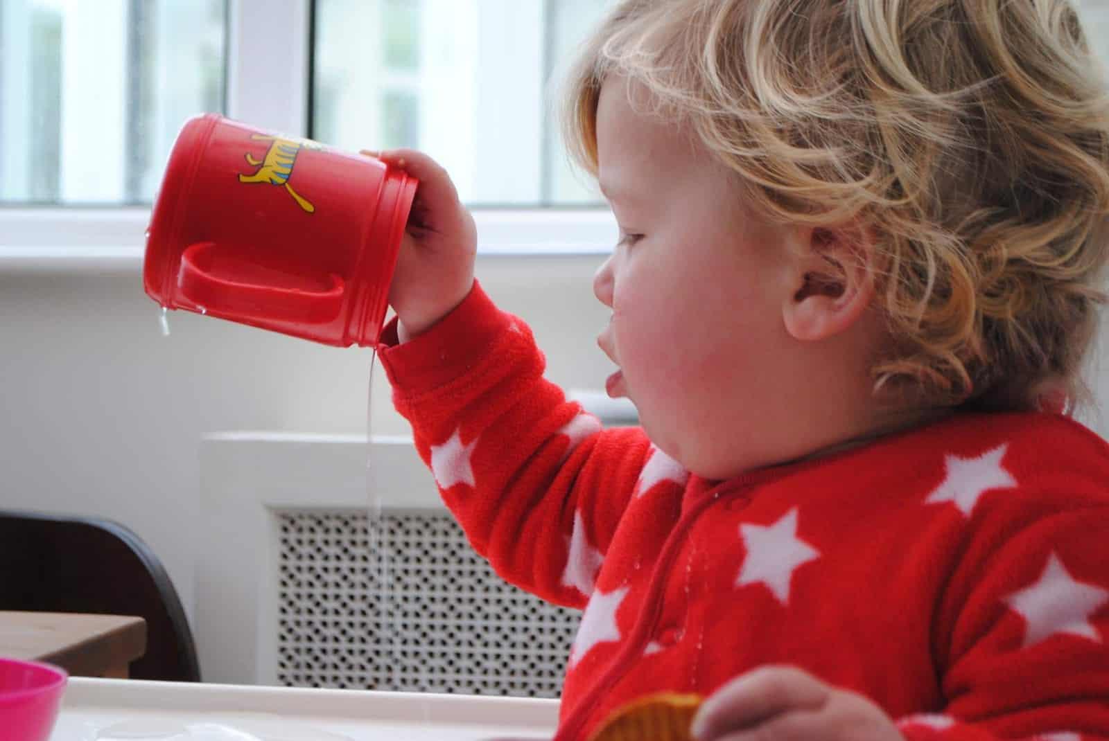 Gradual weaning from breastfeeding 6
