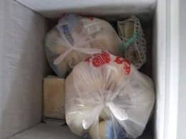 freezer stock of breast milk