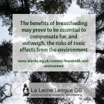 breastfeeding and the environment