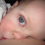 Baby at-breast using SNS