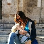 breastfeeding in public, cathedral steps