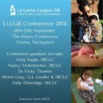 La Leche League GB Conference 2018 – Poster Abstract Submission Form
